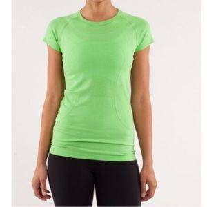 Lululemon Green Swiftly Tee Size 4